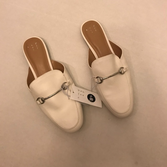 7b5e969604f A new day woman loafers Kona slip on shoes white